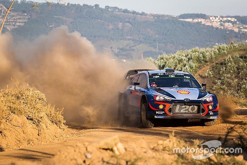 WRC-Rallye Portugal: Neuville baut Führung aus