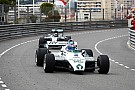 Formule 1 In beeld: Keke en Nico Rosberg rijden in hun kampioenschapsauto's