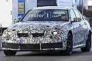 Automotive New BMW M3 spied up close