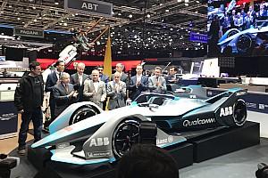 Fórmula E Conferencia de prensa Finalmente se presentó el nuevo Fórmula E Gen 2