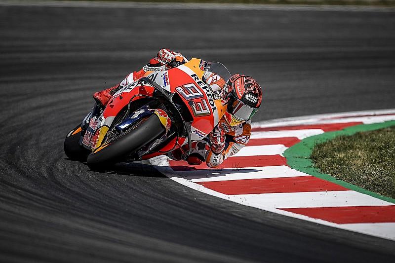 MotoGP Assen 2018: Marc Marquez zum Auftakt vorne