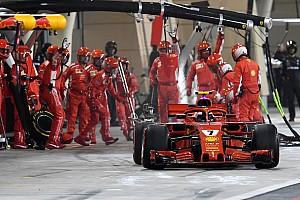 Fórmula 1 Noticias Ferrari le dedica la victoria al mecánico lesionado en pits