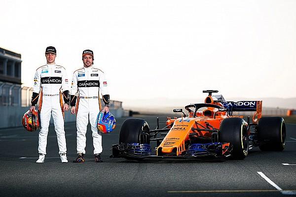 F1 Noticias de última hora McLaren estrena el MCL33 con motor Renault en Navarra