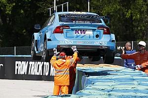 WTCC Réactions Un week-end frustrant en Hongrie pour le clan Volvo