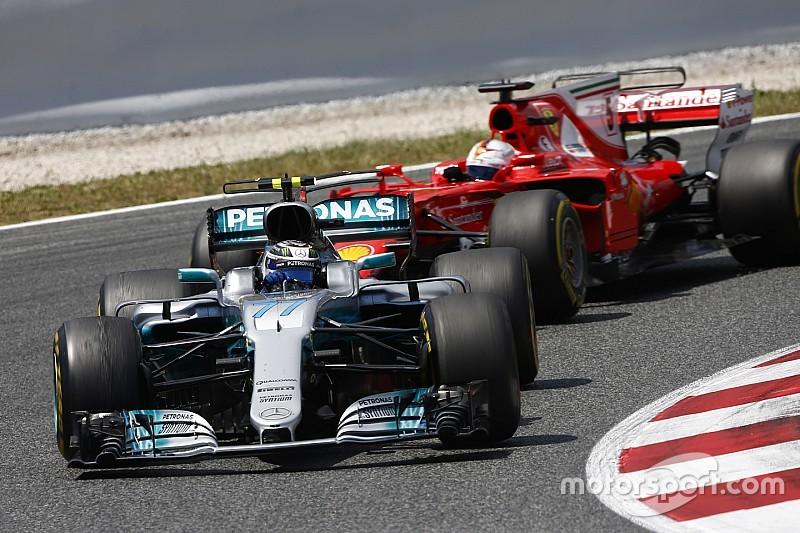 """Valtteri Bottas """"musste"""" Vettel bei F1-Rennen in Barcelona aufhalten"""