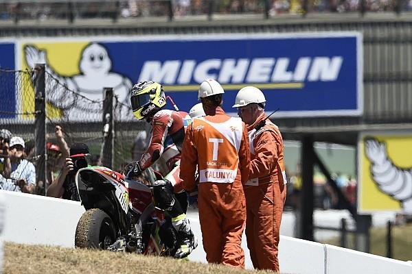 Espargaro, Aprilia'nın motor arızası nedeniyle öfkeli