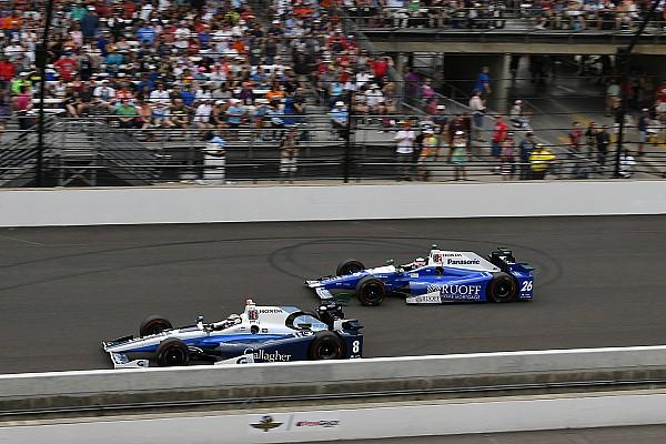 Chilton est passé à six tours de la victoire à Indy