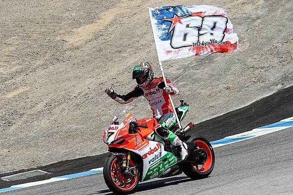 WSBK Laguna Seca: Davies verslaat Kawasaki-duo bij comeback