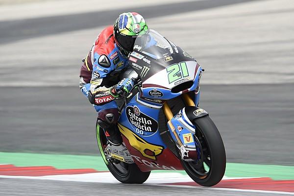 Morbidelli voor Luthi en Marquez in warm-up GP Oostenrijk