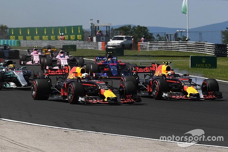 Verstappen se disculpará con Ricciardo por el accidente en Hungría