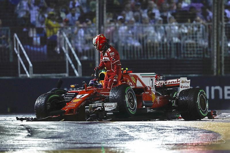 """Räikkönen: """"Semmit sem tehettem, csak utas voltam az autóban"""""""