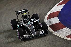 Formula 1 Practice report Singapore GP: Rosberg beats lizard-dodging Verstappen in FP3