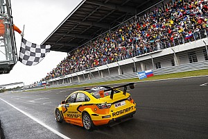 WTCC Race report Moscow WTCC: Catsburg takes maiden win, completes Lada double