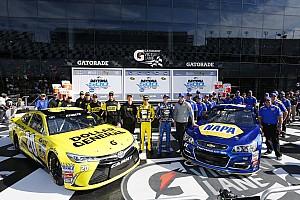 NASCAR Cup Qualifying report Daytona 500 starting line-up