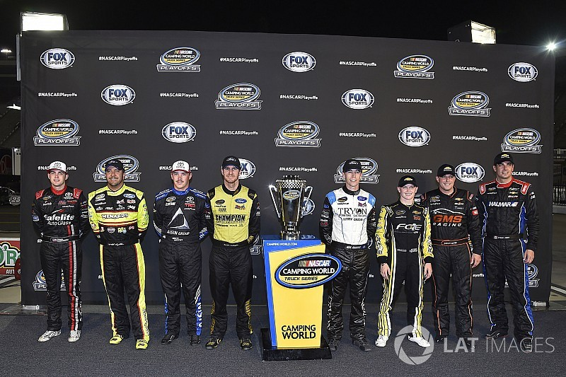 Opportunities await in first round of NASCAR Truck playoffs