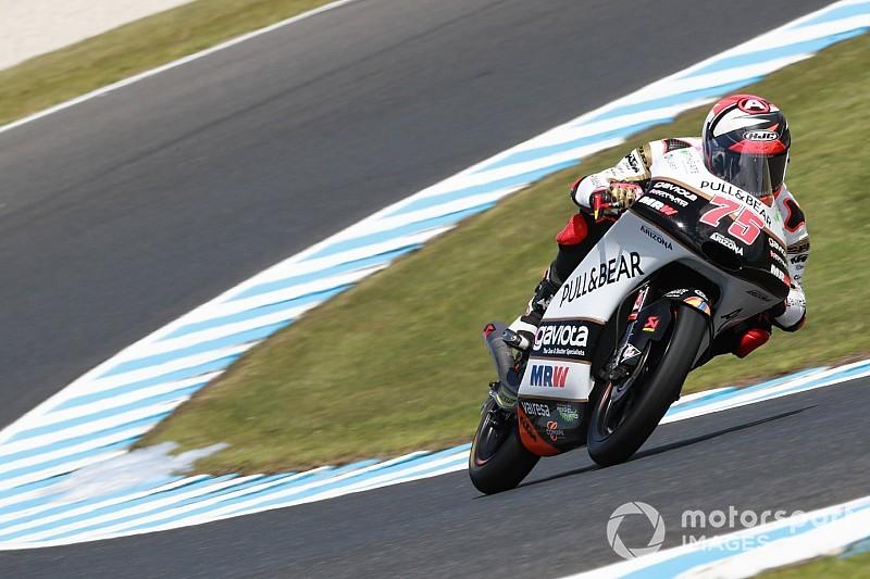 Moto3 Australia: Arenas menangi balapan sengit, Bezzecchi tersungkur