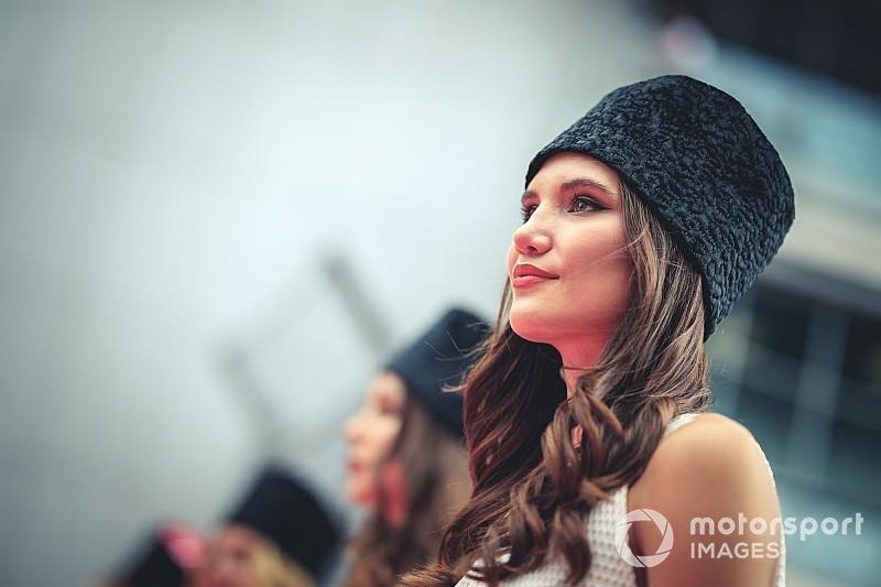 Fotogallery: la F1 ritrova le grid girl in Russia, in SBK invece non mancano mai