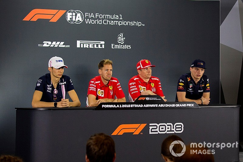 Abu Dhabi GP: Thursday's press conference
