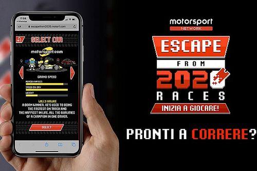Cómo escapar del año 2020 en coche... ¡con un videojuego!
