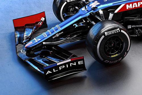 Análise técnica: veja os ajustes escondidos do novo carro da Alpine