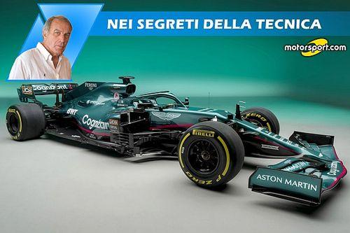 Aston Martin AMR21: è l'arma di Vettel per tornare grande?