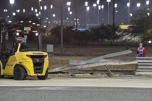 FIA past circuit Bahrein aan naar aanleiding van crash Grosjean