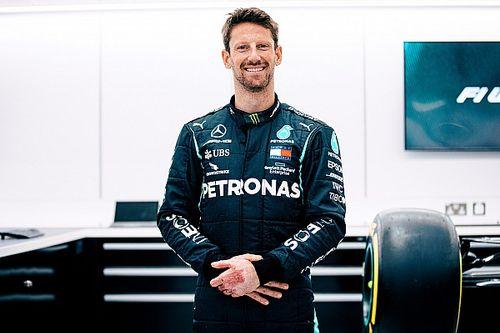Romain Grosjean va retrouver le volant d'une F1 avec Mercedes
