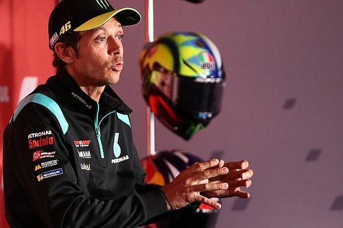 """Rossi ve """"muy difícil"""" correr el año que viene en MotoGP"""