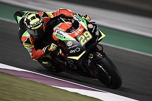"""Iannone werkt aan vertrouwen: """"Racetempo Aprilia voelt prima"""""""