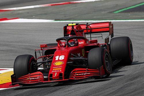 Leclerc satisfecho con su viernes en España