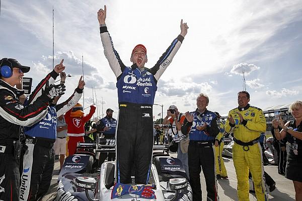 IndyCar Detroit IndyCar: İkinci yarışı da kazanan Rahal duble yaptı