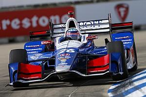IndyCar Reporte de calificación Takuma Sato logra la pole para la segunda carrera en Detroit