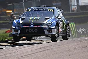 World Rallycross Résumé de course Solberg remporte les deux premières manches