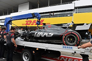 Формула 1 Важливі новини Грожан здивований аварією у кваліфікації на Сузуці