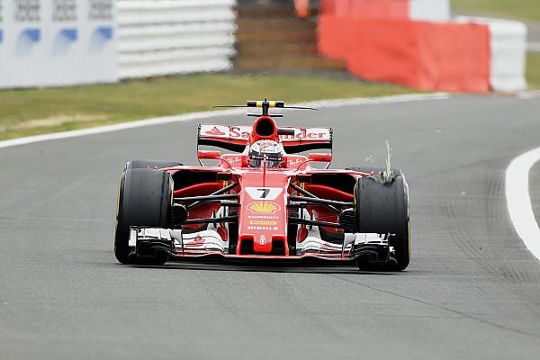 Pirelli geeft opheldering over bandenprobleem Raikkonen op Silverstone