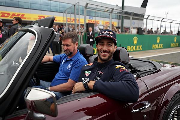 Ricciardo éhes, és alig várja a Magyar Nagydíjat