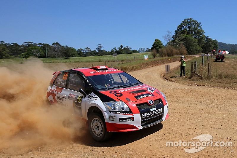 Australian rally star eyeing European move