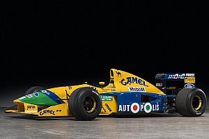 Automotive Noticias de última hora A subasta el Benetton Ford de 1991 de Schumacher y Piquet