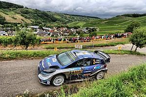 WRC Etappeverslag WRC Duitsland: Tanak behoudt voorsprong van 21 seconden