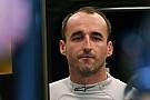 Williams: Robert Kubica ist