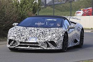 Automotive Noticias de última hora El Lamborghini Huracán Performante Spyder, cazado