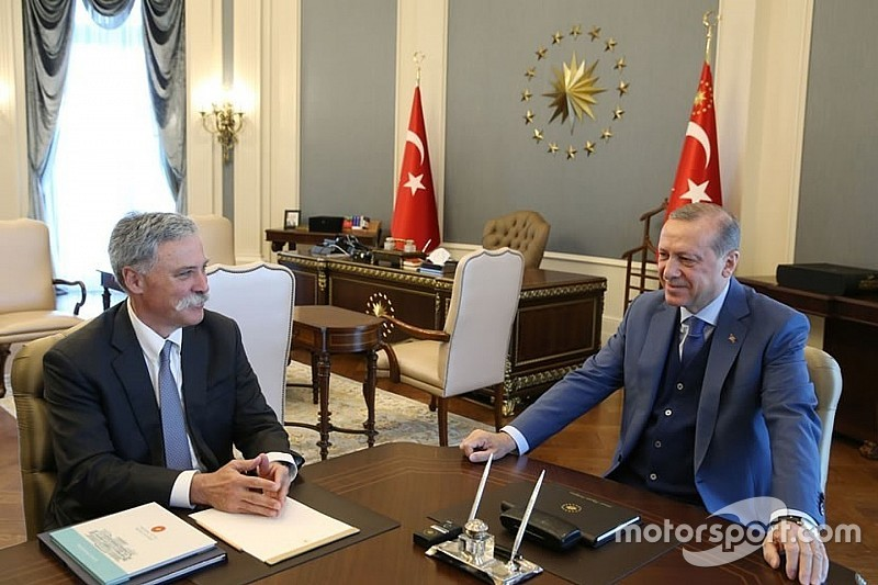 "Turkey F1 return ""agreed in principle"" after Carey meets President"