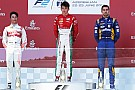 FIA F2 Baku F2: Leclerc wins as race ends with track blockage