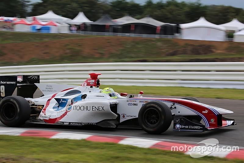 Sugo Super Formula: Sekiguchi fends off Gasly for victory