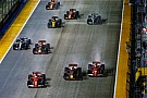 Hamilton justifica el accidente de Vettel en Singapur