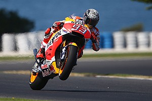 MotoGP Testing report Marquez tops opening day of MotoGP testing at Phillip Island