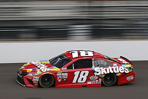 NASCAR Cup Race report Kyle Busch wins Stage 2 of the Brickyard 400