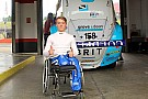General Monger drives racing car for first time since crash
