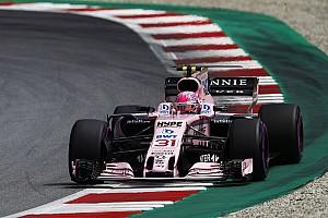 Los resultados inmediatos de Ocon sorprendieron a Force India