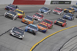 NASCAR Cup Interview Upon review, Harvick's Atlanta pit road issues could have been worse